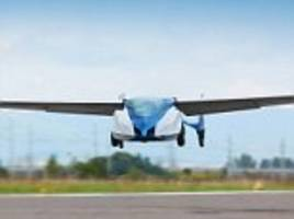 Prototype flying car unveiled with groundspeed of 124mph and flight range of 430miles