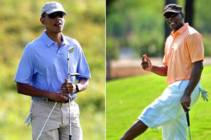 Michael Jordan: President Obama is a 'sh- – -y golfer'